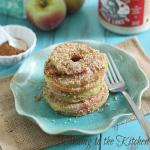 Baked Almond Apple Crisp Rings