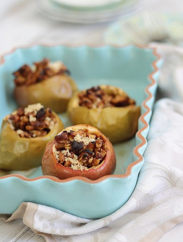 Baklava stuffed apples