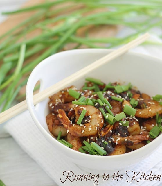 An easy kung pao shrimp recipe made in minutes at home that rivals takeout. Serve it over some white rice with your favorite steamed vegetable.