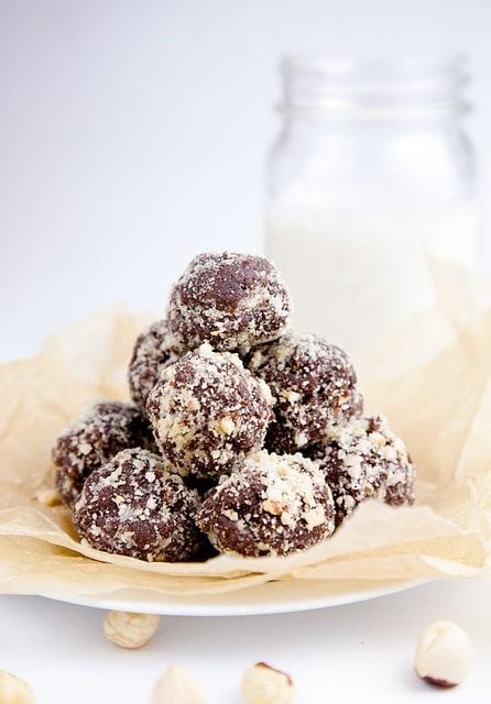 Nutella cookie dough balls