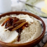 Brown butter and caramelized onion mashed cauliflower