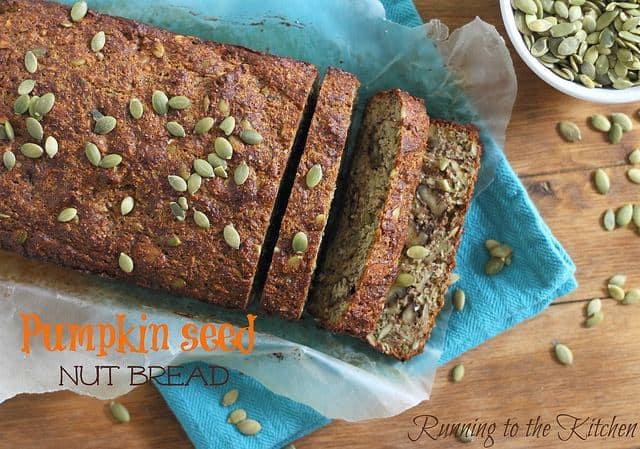 Pumpkin seed nut bread