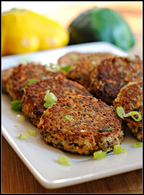 Quinoa Patties with Goat Cheese and Remoulade