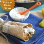 Spiced Shawarma Chicken Wraps (159x190)