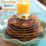 Pumpkin Paleo Pancakes (that actually taste good)