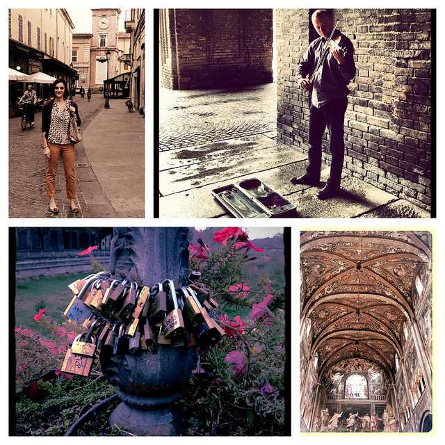 photo collage Parma