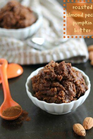 Roasted almond pecan pumpkin butter