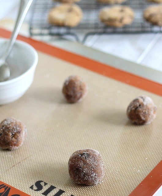 Make these easy chocolate chunk gingerbread molasses cookies for a slightly healthier way to indulge this holiday season.
