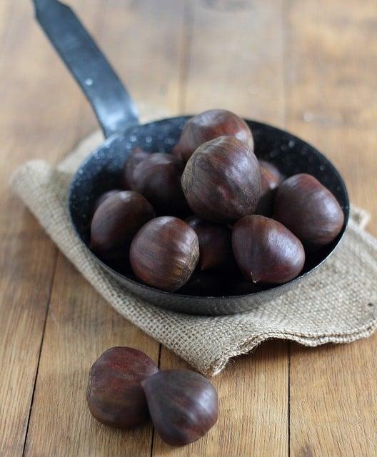 Vanilla chestnut spread