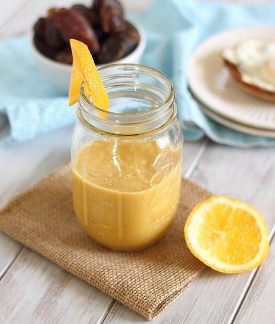 orange date smoothie
