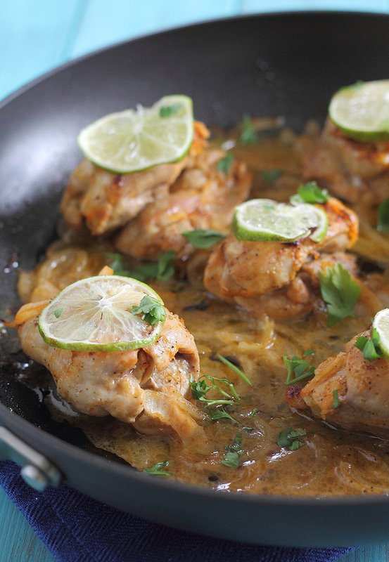 Sriracha Lime Chicken Skillet