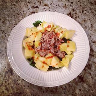 carnitas and pineapple