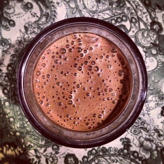 chocolate banana almond butter protein shake