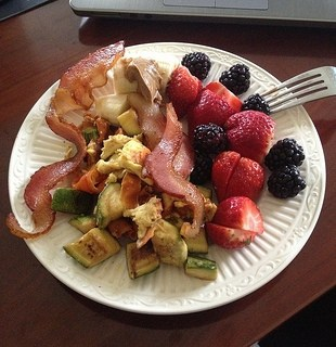 paleo breakfast scramble