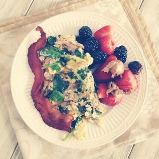 paleo egg scramble