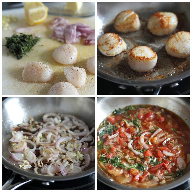easy lemon scallop recipe