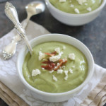 Chilled Avocado Citrus Soup