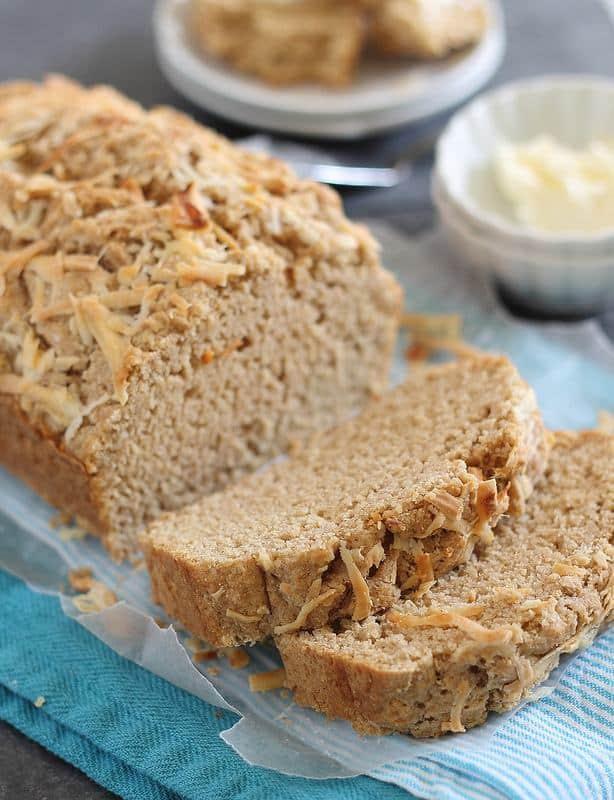Maple parmesan bread