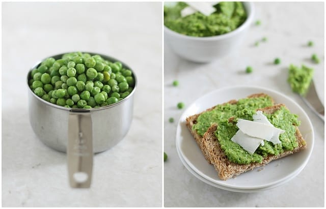 pea and avocado spread