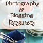 New page! Resources {blogging and photography}