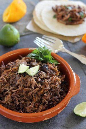spicy beef carnitas