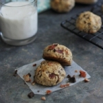 Bacon chocolate chip cookies (grain free)