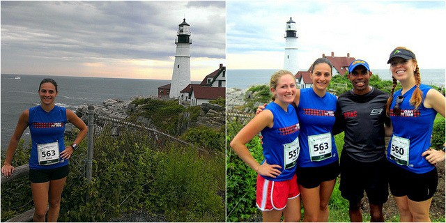 2013 Beach to Beacon 10k race