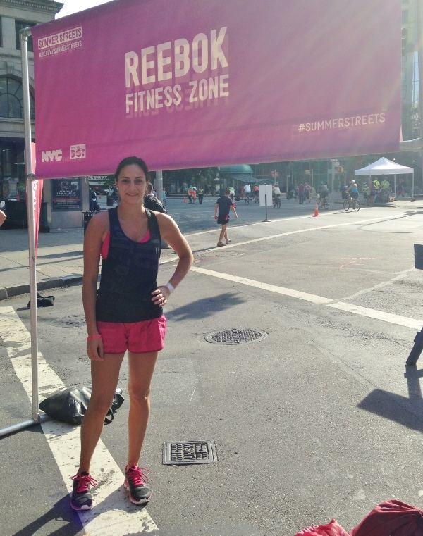 Reebok Summer Streets | runningtothekitchen.com