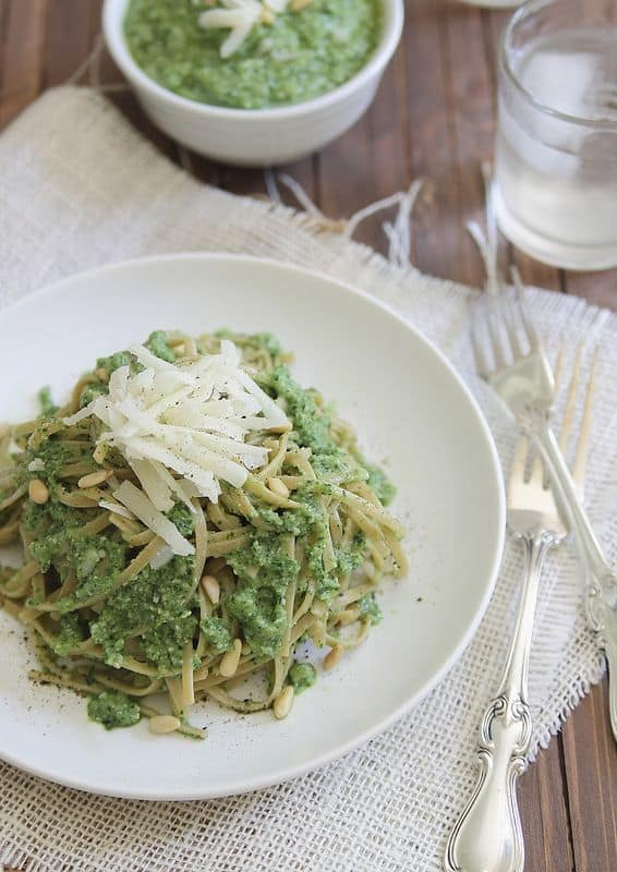 Zucchini Pesto | runningtothekitchen.com