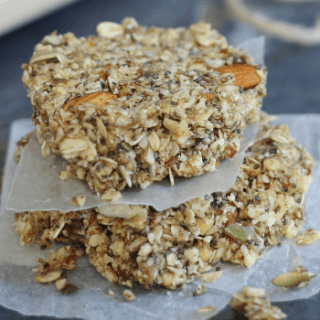 Apple Cinnamon Granola Bars