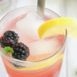 Blackberry mocktail