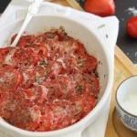 Parmesan tomato gratin