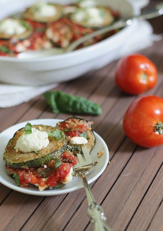 Zucchini Ricotta Bake | runningtothekitchen.com