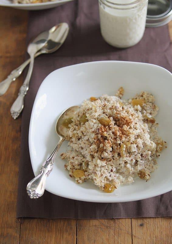 Apple Nut Porridge | runningtothekitchen.com