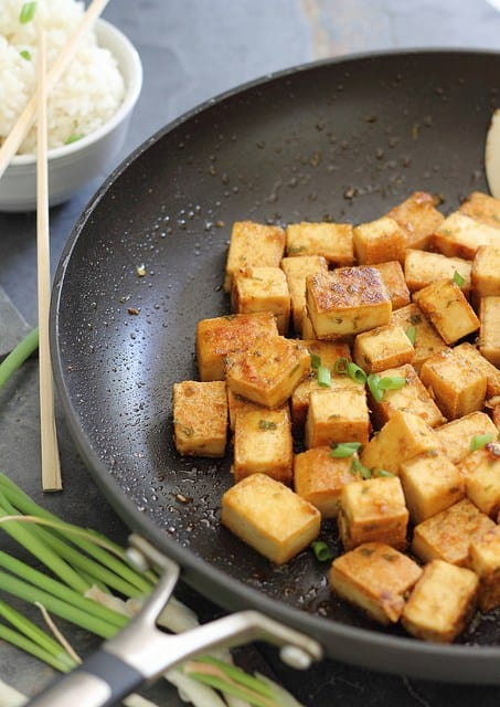 The only way to eat tofu - crispy! This sweet and sour crispy tofu recipe is simple and delicious.