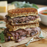 Roast Beef Smoked Gouda Grilled Cheese