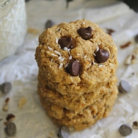 Brown Butter Sweet Potato Chocolate Chip Cookies