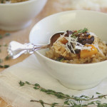 Butternut Squash and Porcini Risotto