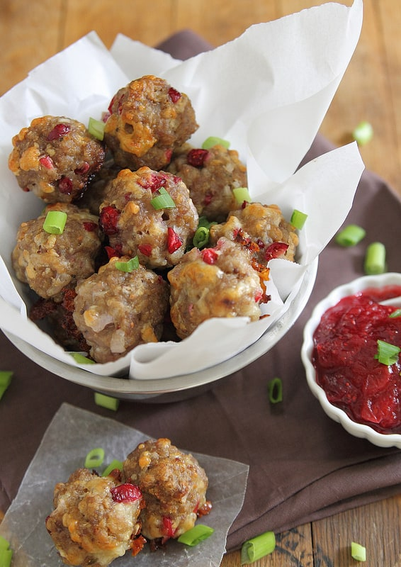 Cranberry Cheddar Sausage Bites | Thanksgiving Recipes to Please Everyone at Your Table