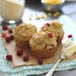 Cranberry corn muffins 450x450