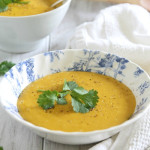 Potato pumpkin soup