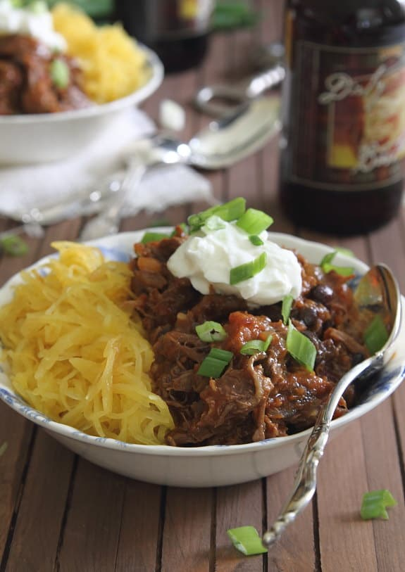 Spicy Porter Short Rib Chili | Running to the Kitchen