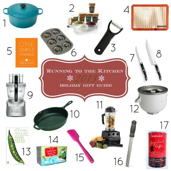 2013 Holiday Gift Guide | www.runningtothekitchen.com