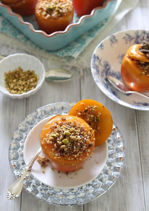 Stuffed Persimmons