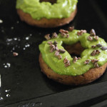 Baked Chocolate Avocado Donuts
