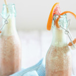 Bubbly Ginger Blood Orange Smoothie