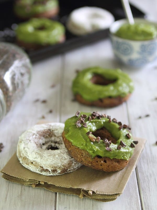 Chocolate Avocado Donuts