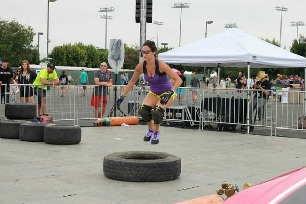 2013 Reebok CrossFit Games workout with Christmas Abbott