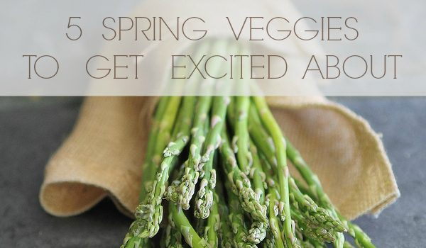 A guide to spring vegetables – asparagus