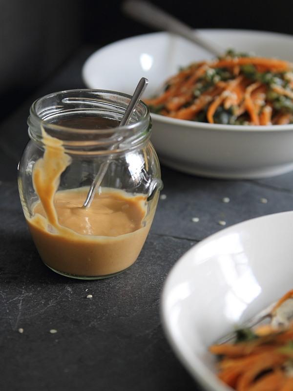 Sriracha Peanut Butter Salad Dressing